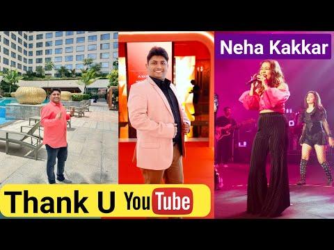 Full on Enjoy in Bangalore Event 💃| Neha Kakkar Live Performance | New Social Media App Launched