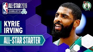 Kyrie Irving 2019 All-Star Starter   2018-19 NBA Season