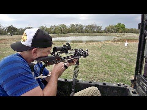 Crossbow Trick Shots | Dude Perfect