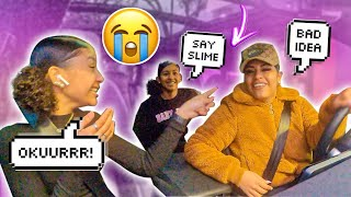 My Little New Sisters Went Through The Drive Thru As Celebrities! (This Happened)