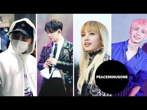 Korean Idols/Artist wearing PEACEMINUSONE 3