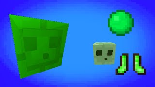 Minecraft - Slime king boss battle in 1 command