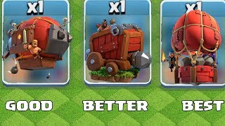 "WHICH IS THE BEST!?! ""Clash Of Clans"" NEW UPDATE!!"