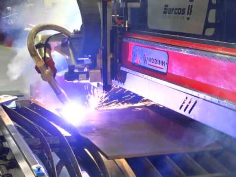 Contour Bevel Plasma Cutting