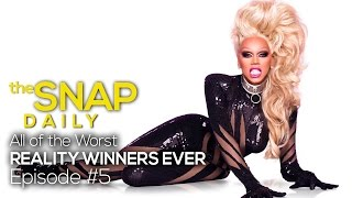 The Worst Reality Competition Show Winners Ever | The Snap Daily -- Episode #5