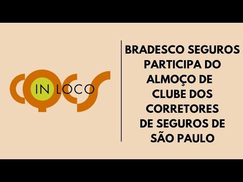 Imagem post: Bradesco Seguros participa do almoço no Clube dos Corretores de Seguros de São Paulo