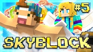 WE CAN FLY!? | SKYBLOCK | EP 5 | Lollipop SkyBlock CandyCraft Server