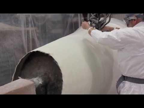 Spray-Up Molding Process - Contact Molding Fiberglass | Beetle Composites