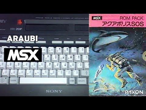 Aquapolis SOS (General, 1983) MSX [334] Walkthrough Comentado