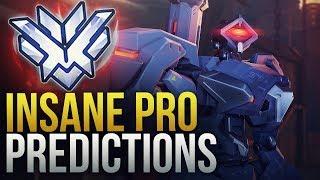 WHEN PROS MAKE INSANE PREDICTION PLAYS - 200 IQ - Overwatch Montage