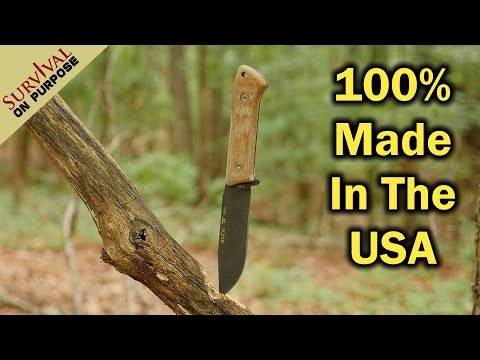 Best Knives Under $100 Made in the USA - Buck Compadre 104 - Sharp Saturday