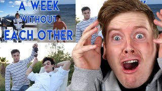 A Week Without Each Other & Twins Only Say YES To Each Other For A Day -  Dolan Twins Reaction