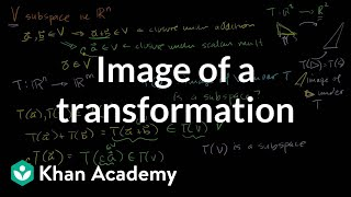 im(T): Image of a Transformation