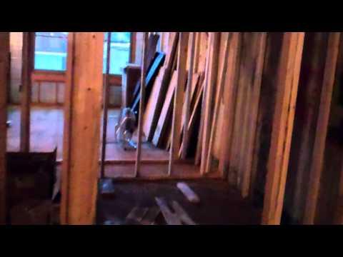 172 1/2 Front Street Loft Apartment - Construction Video