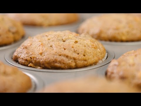 Convection for Healthy Snacks featuring Thermador - Quinoa Muffins & Carrot Muffins