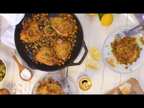 Chef Alison Roman Makes Crispy Chicken Thighs With Caramelized Lemons | Tastemade Collaborations