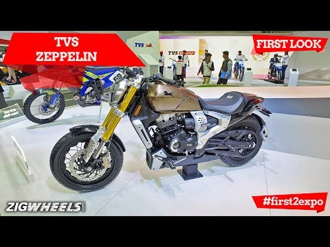 TVS Zeppelin At Auto Expo 2018:First Look