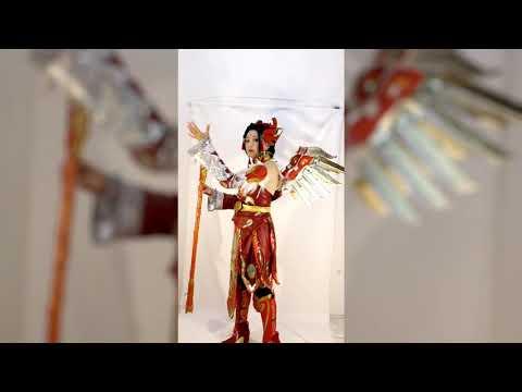 Galini Τsouiko - Mercy Red Phoenix Skin, Overwatch