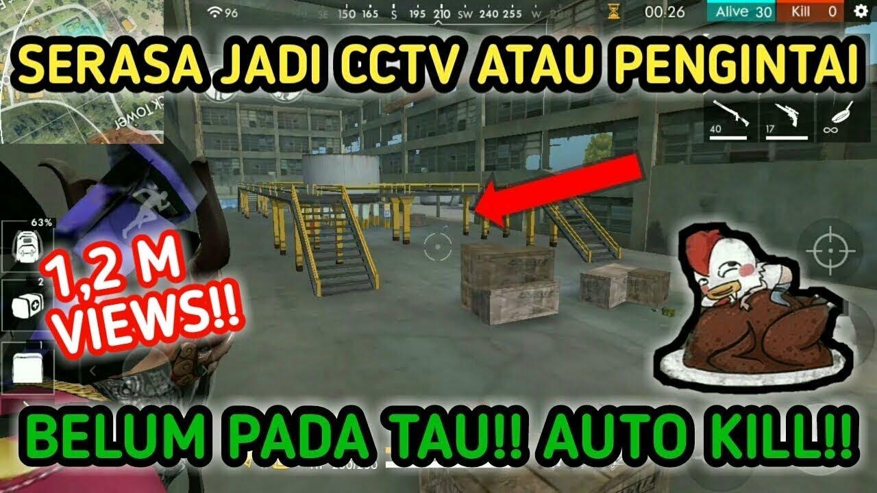 BELUM PADA TAU!!! BUG JADI CCTV RUANGAN || BUG FREE FIRE TERBARU || FREE  FIRE INDONESIA