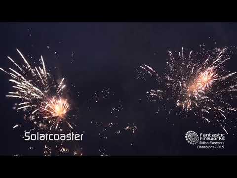Fantastic Fireworks Solarcoaster - 78 Shot firework