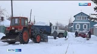 Свыше 1000 кубометров снега вывезено с городских улиц за три последние дня
