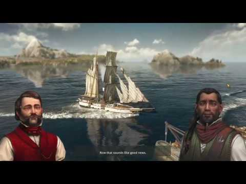 Anno 1800 10 minutes of single-player gameplay no commentary Alienware m17 RTX Nvidia