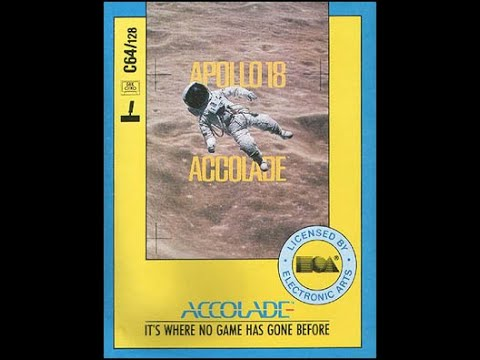 BITeLog 009A: Apollo 18, Mission to the Moon (COMMODORE 64) LONGPLAY