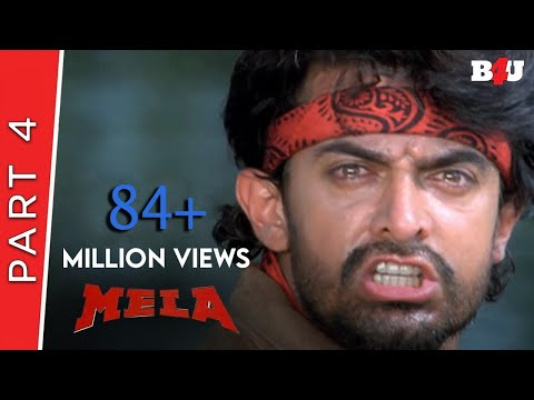 Mela | Part 4 | Aamir Khan, Twinkle Khanna | B4U Mini Theatre