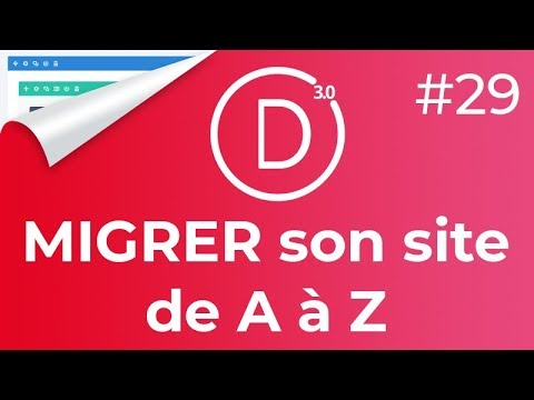 MIGRER un site WORDPRESS en 5 minutes ! (#DIVI 29)