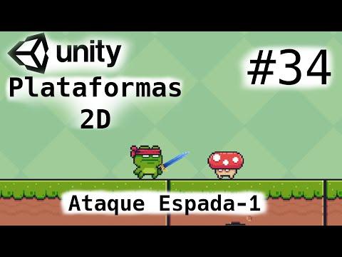 Juego De Plataformas 2D/Unity Tutorial 2021/Ataque Espada Parte 1/Cap-34