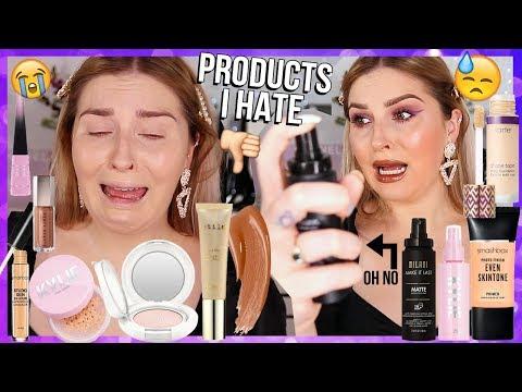 full face of makeup i HATE ? bad makeup & regrets