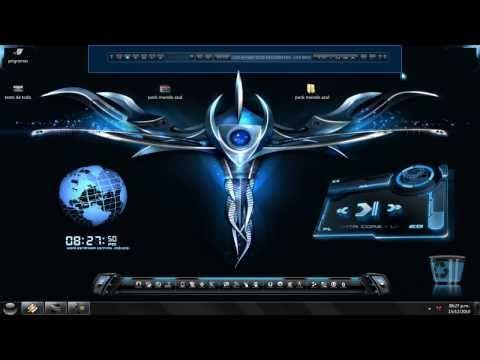 Prototype free 2012 iron 7 man windows theme download