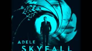 Adele  Skyfall Karaoke)