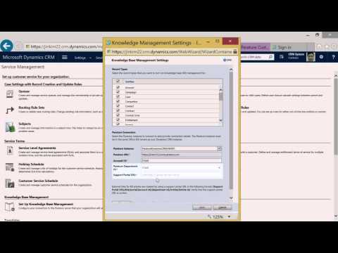 Parature, from Microsoft – Knowledge Integration with Microsoft Dynamics CRM Online Set Up