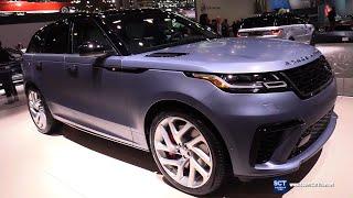 2020 Range Rover Velar SV Autobiography - Exterior Interior Walkaround - 2019 New York Auto Show