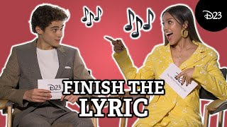 Can the High School Musical: The Musical: The Series Cast Finish That Lyric?