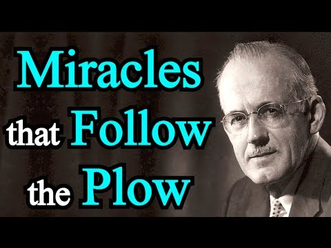 Miracles that Follow the Plow - A. W. Tozer Sermon (Improved Audio)