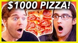 BUYING A $1000 PIZZA