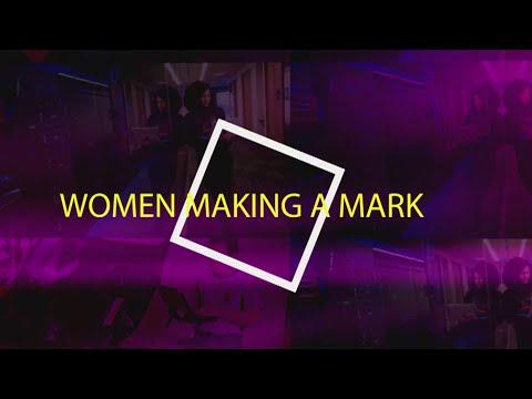 screenshot of youtube video titled Make Your Mark: Women & Careers