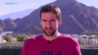 Interview: Cilic Feeling Confident