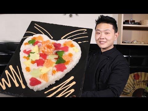 Как приготовить Суши Торт на 14 февраля | Рецепты тортов photo