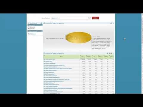 Link Targets - SEOlytics Tutorial Video