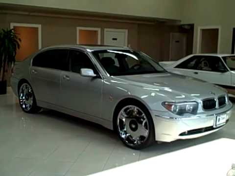 04 BMW 745Li Silver TITAN AUTO SALES In Worth IL