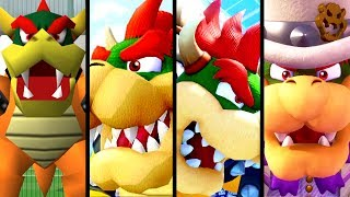 Super Mario Evolution of BOWSER'S VOICE 1997-2017 (N64 to Switch)