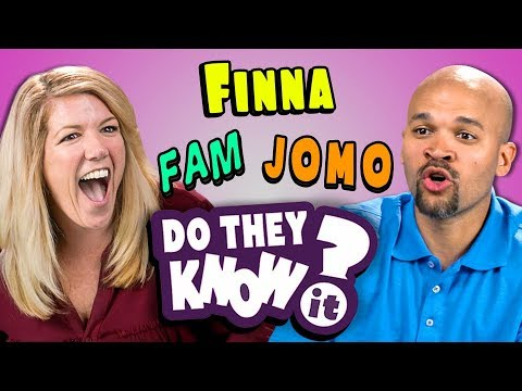 DO PARENTS KNOW TEEN SLANG? #4 (REACT: Do They Know It?)