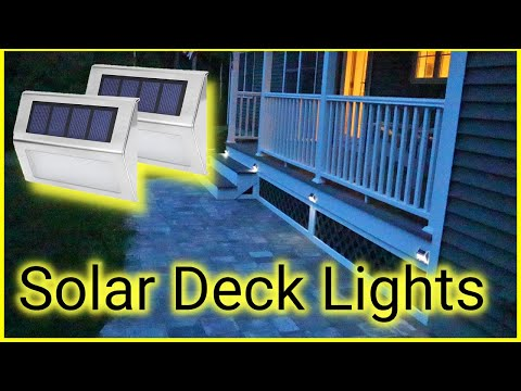 SGLEDS Solar Deck Lights