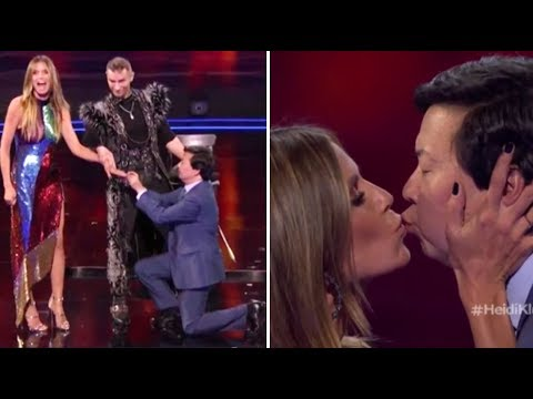Heidi Klum & Ken Jeong Get ENGAGED On TV After NEARLY DYING Together! | America's Got Talent 2018