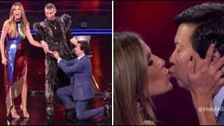 Hedi Klum & Ken Jeong Get ENGAGED On TV After NEARLY DYING Together! | America's Got Talent 2018
