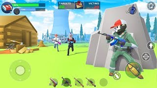 Battle Royale: FPS Shooter - Android iOS Gameplay HD