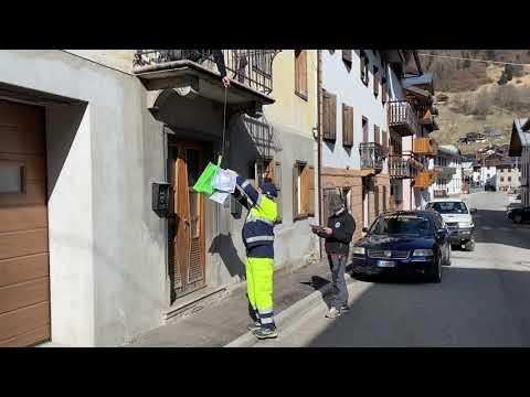 Mascherine anti contagio a Campolongo